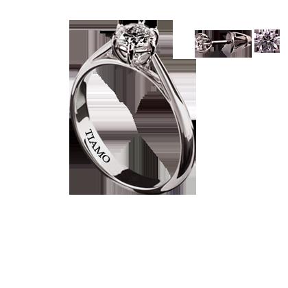 0977a62b90f1 помолвочное кольцо TIAMO ТЕ-5059 49, каталог помолвочных колец TIAMO ...