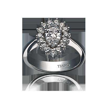 c1726ed06788 помолвочное кольцо TIAMO PL-6, каталог помолвочных колец TIAMO ...