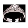 a4f2aa6e8b5d помолвочное кольцо TIAMO PL-10, каталог помолвочных колец TIAMO ...